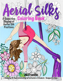 Aerial Silks Colouring Book