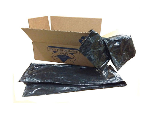 Can Liner, 58 x 75, 96 Gallon, Black, 1.8MIL - 50/CS (CRB5875)
