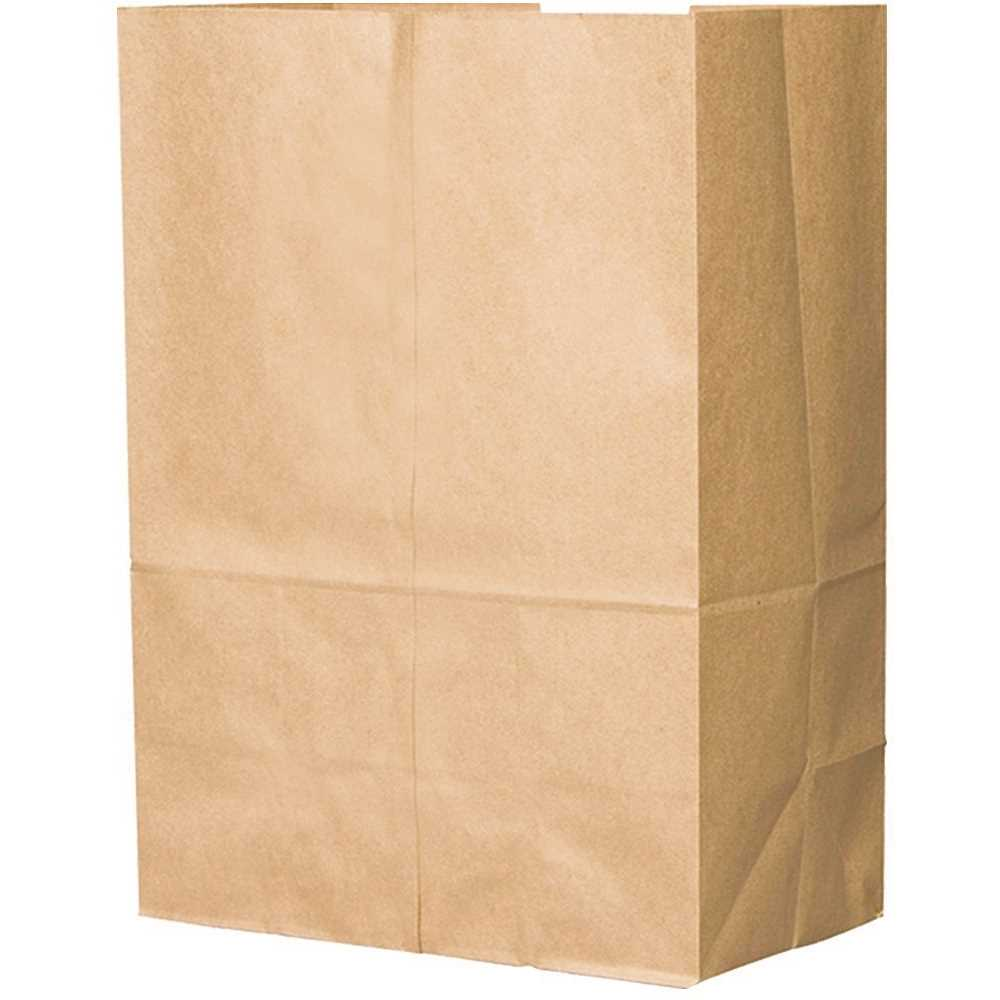 Paper Bag, Brown, 1/6-BBL 76#, Grocery Bag - 400/BNDL (80080)