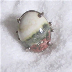 Gemstone ring for a woman
