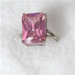 Buy Big Pink Fashion Ring