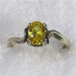 Buy Right hand citrine ring for a wom an