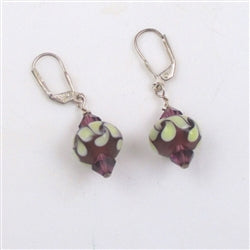 Artisan bead handmade earrings