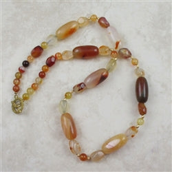 Buy extra long carnelain gemstone necklace