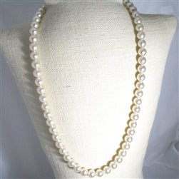 Buy Extra long big bold pearl necklace
