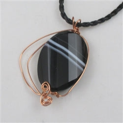 On sale agate pendant necklace