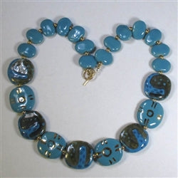 Fair Trade Handmade Kazuri Bead necklace