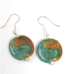 Kazuri fair trade Kazuri bead earring