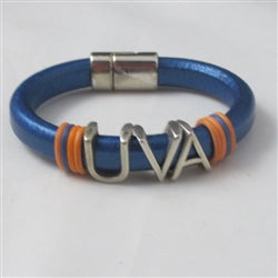 UVA Leather Bracelet