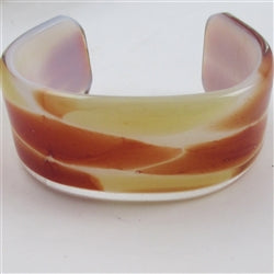 Buiy tan glass cuff bracelet on-line