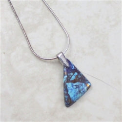 Purple Turquoise pendant Necklace