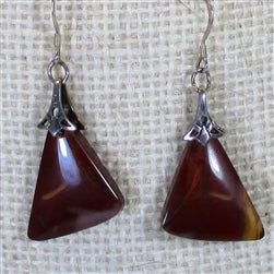 Mookaite Gemstone earrings