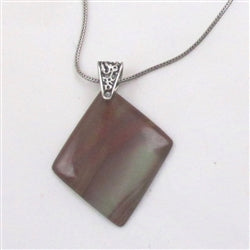 Classic Gemstone Pendant Necklace