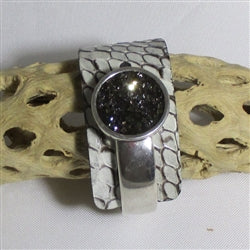 Buy Wide Cuff Leather Bracelet