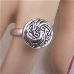 Delightful  silver fashion ring