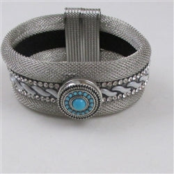 Silver Mesh Bracelet for all occasions Great office accessory