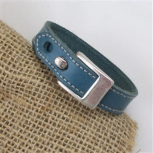 Buy turquoise leather bracelet for a man