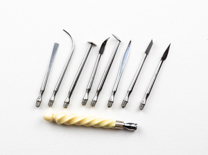 Small Cased Set of Dental Scalers