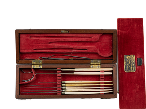 Smaller Set of Dissecting Instruments by Tiemann