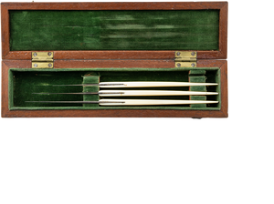 Cased Set of Scalpels