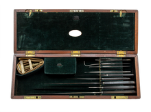 Load image into Gallery viewer, Civil War Boxed Surgical Set