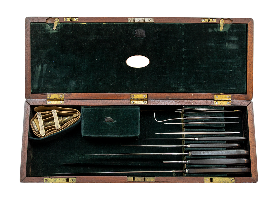 Civil War Boxed Surgical Set