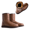 Possum Fur Leather Hand Crafted Women's Boot - Chocolate