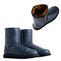 Possum Fur Leather Hand Crafted Women's Boot - Midnight Blue