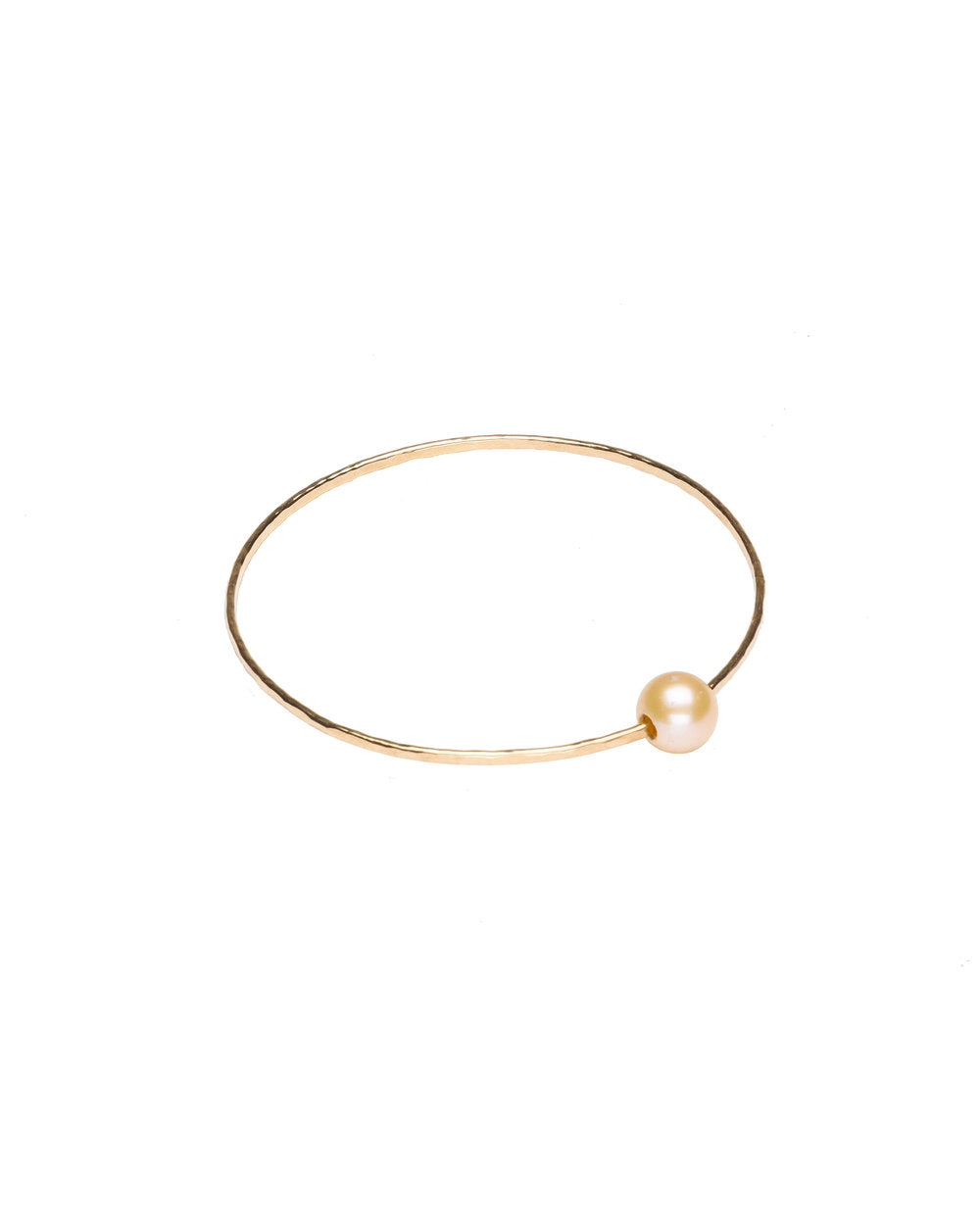 Pink-Peach Pearl Harbor bangle