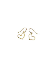 Load image into Gallery viewer, Small Classic Heart drop earrings
