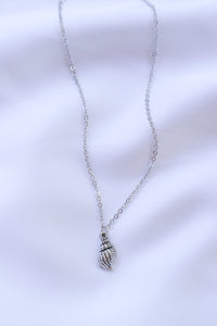 Silver Seashell necklace