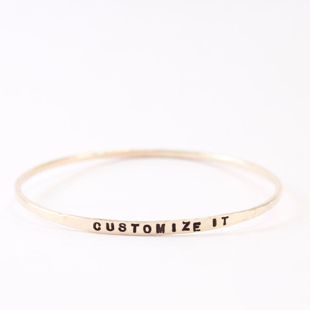 Customize Your Own Zayit bangle