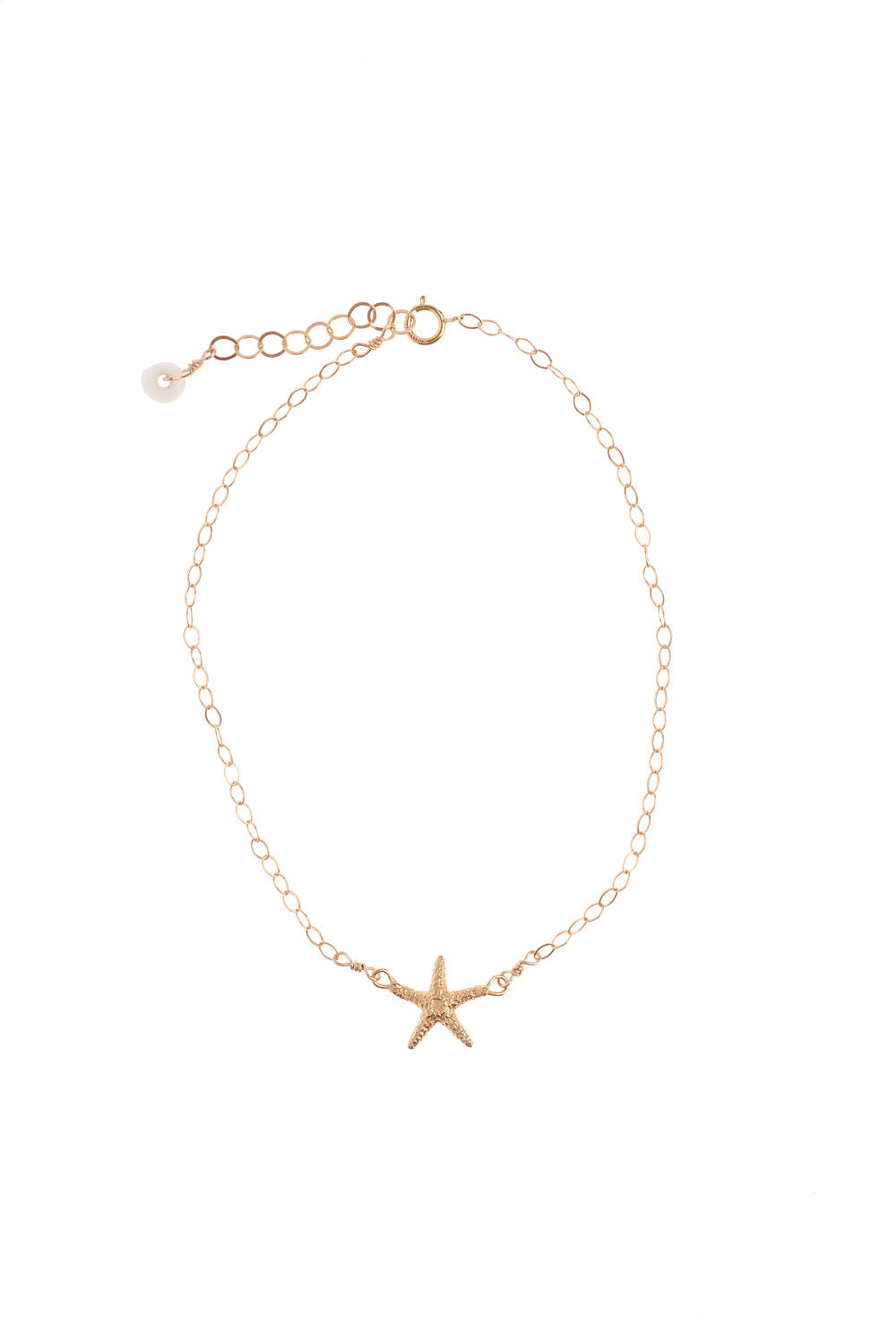 Manini Starfish Chain anklet