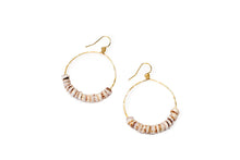Load image into Gallery viewer, Manini Spot Puka Small hoop earrings
