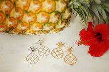 Load image into Gallery viewer, Large Pineapple drop earrings