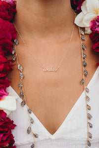 Small Wahine necklace