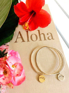 Aloha Hawaiian Islands Charm bangle