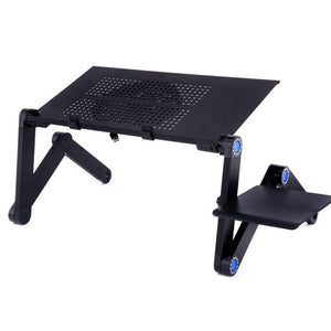 Adjustable Foldable Aluminum Laptop Stand for Bed