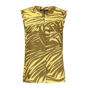 Marie Mero Jungle Print Top