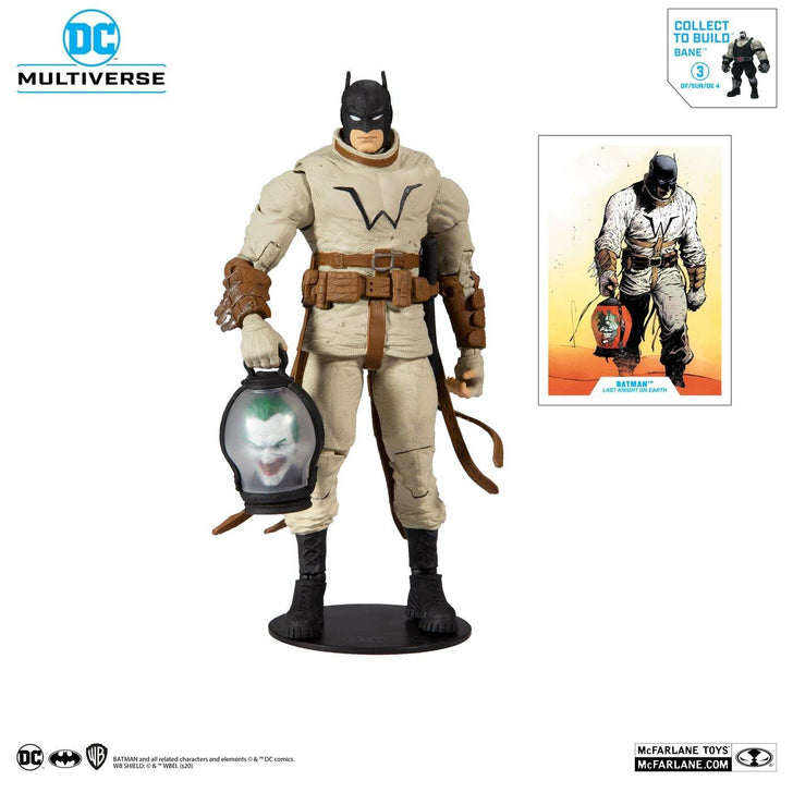 "DC MULTIVERSE BATMAN (BUILD A BANE) LAST KNIGHT ON EARTH #3 7"" ACTION FIGURE - Forthegeekend"