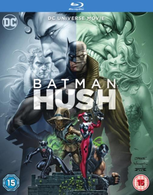 BATMAN HUSH BLU-RAY - Forthegeekend