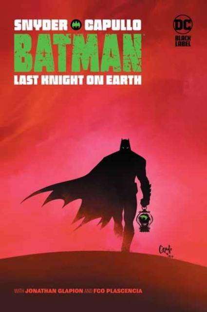 BATMAN LAST KNIGHT ON EARTH HARDCOVER