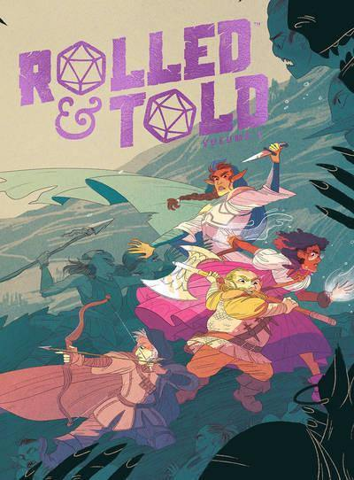 ROLLED & TOLD VOLUME 1 HARDCOVER - Forthegeekend