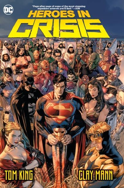 HEROES IN CRISIS SOFTCOVER - Forthegeekend