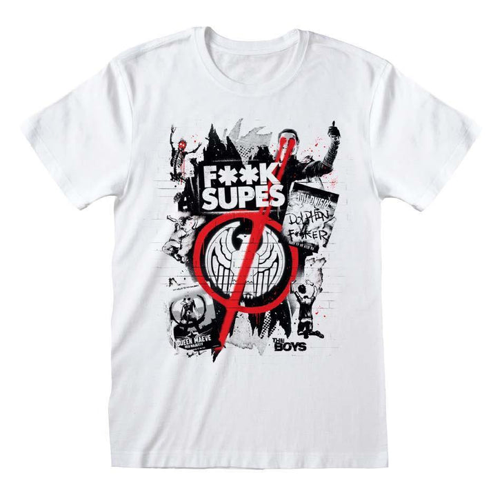THE BOYS F**K SUPES T-SHIRT - Forthegeekend