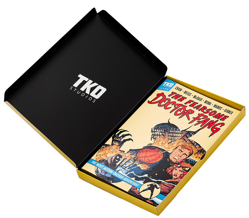 TKO STUDIOS THE FEARSOME DOCTOR FANG 6 ISSUE BOX SET - Forthegeekend