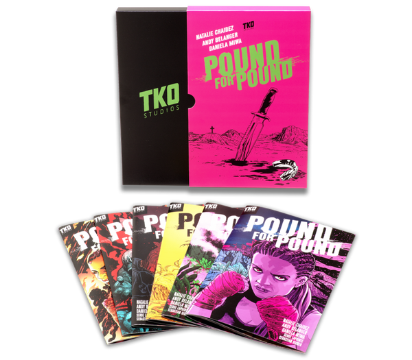 TKO STUDIOS POUND FOR POUND 6 ISSUE BOX SET - Forthegeekend