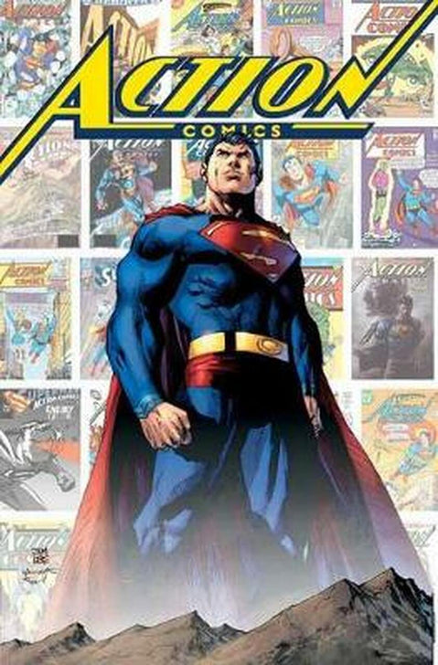 ACTION COMICS; 80 YEARS OF SUPERMAN DELUXE EDITION HARDCOVER - Forthegeekend