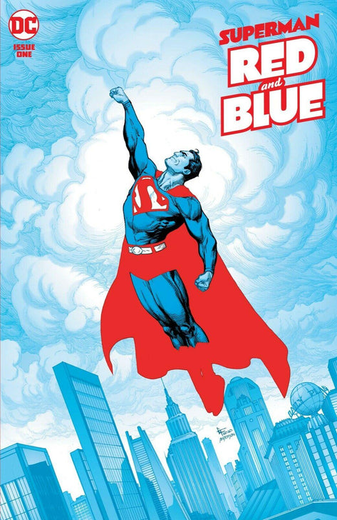 SUPERMAN RED AND BLUE 1 - Forthegeekend