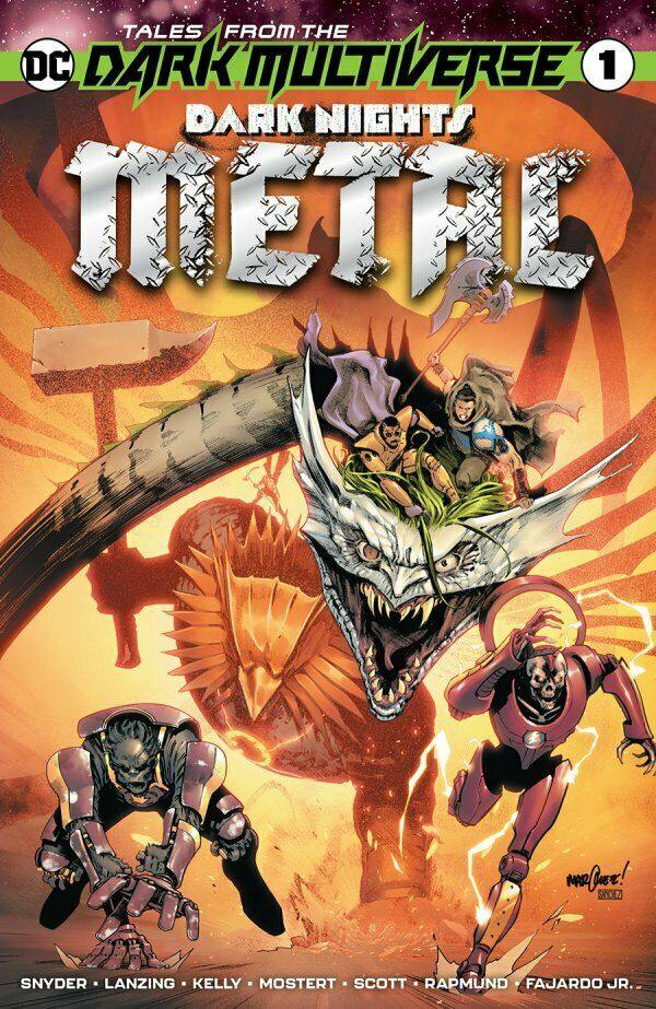 TALES FROM THE DARK MULTIVERSE DARK NIGHTS METAL #1 - Forthegeekend